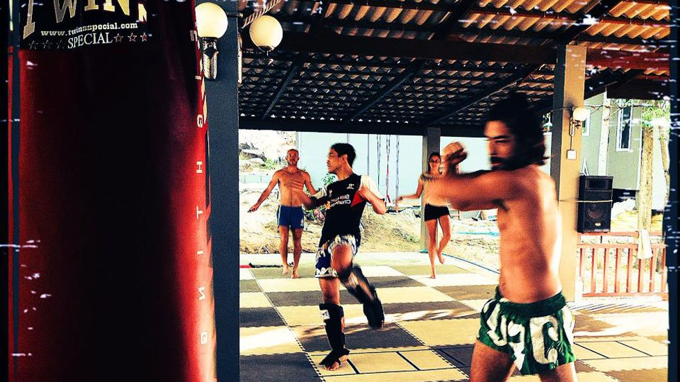 MMA training in Koh Tao, Thailand