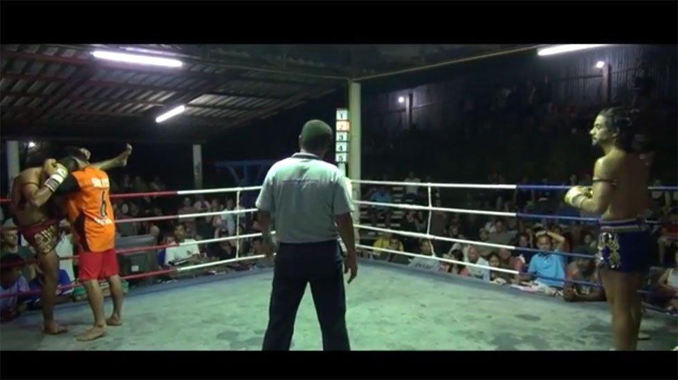 Muay Thai fight night on Koh Tao, Thailand